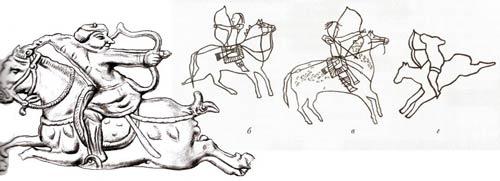 Фигурки Тюхтятского клада и Сулекская писаница